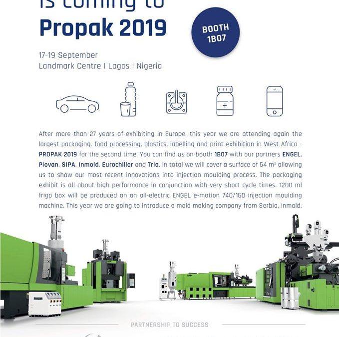 Neofyton at the 2019 Propak Fair in Lagos Nigeria