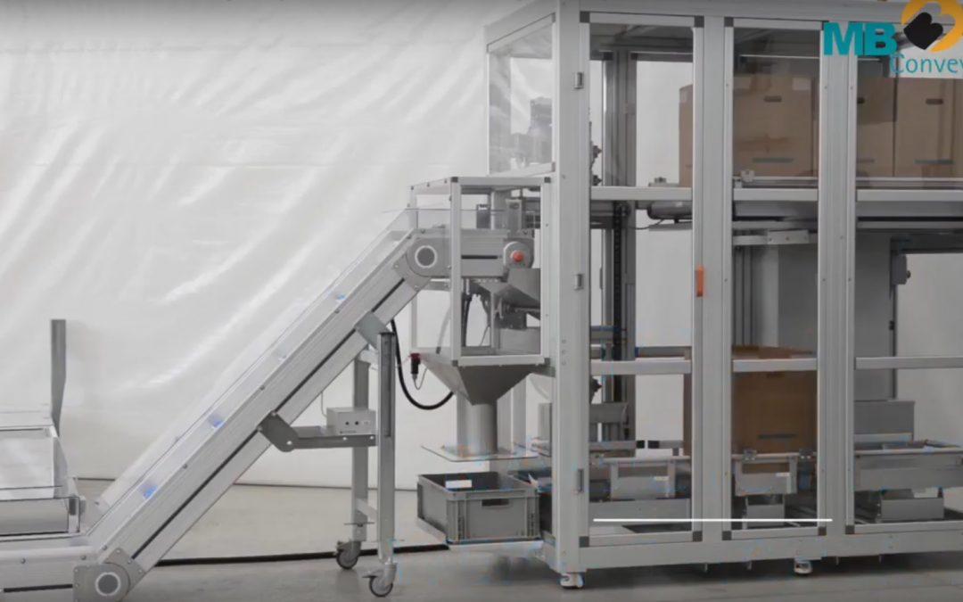 MB Conveyors – Sistem za punjenje i skladištenje sa proverom kvaliteta.