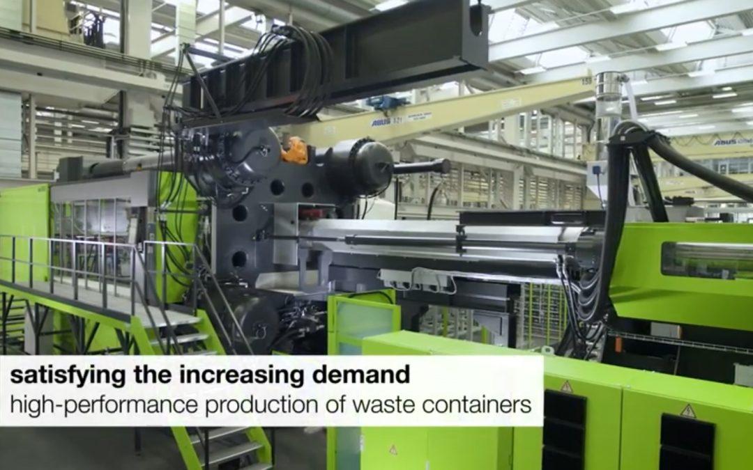 ENGEL duo 5500 – proizvodnja kontejnere za otpad od 1100l