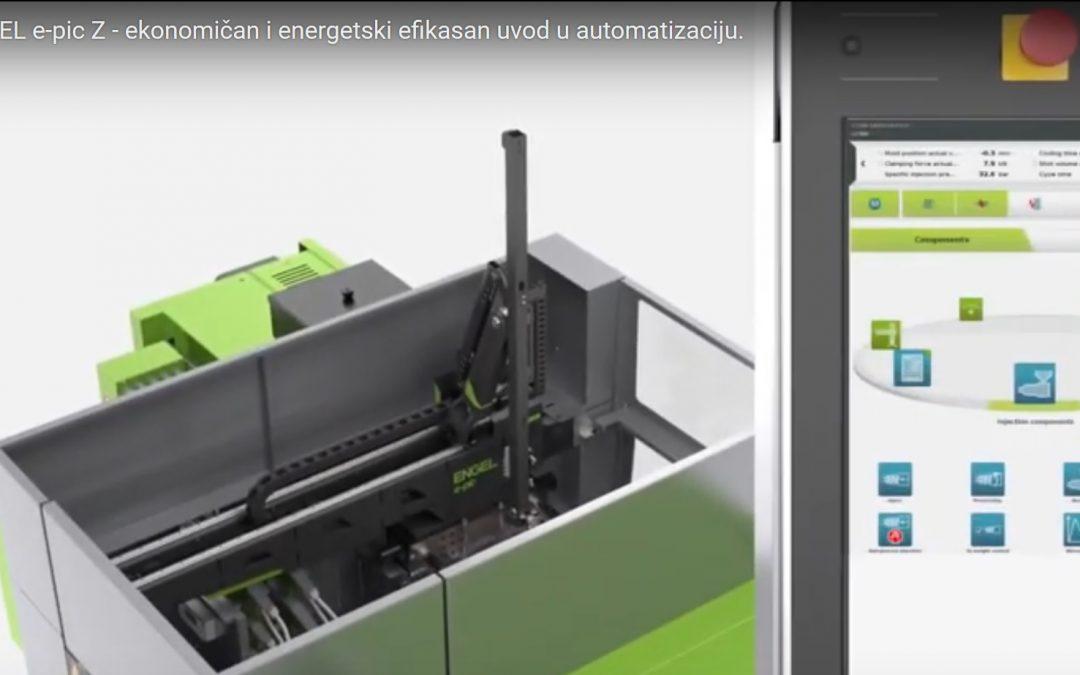 ENGEL e-pic Z – easy integration. Neofyton Engel partner.