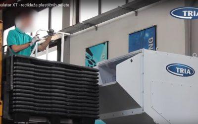TRIA Granulator XT – reciklaža plastičnih paleta