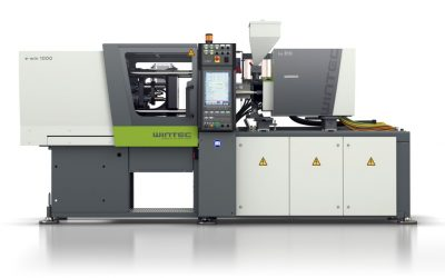 Wintec e-win all electric injection molding machine