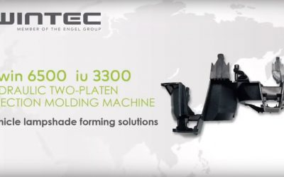 Wintec plastic injection moulding machine t-win 6500. Neofyton representative of Wintec for our region.