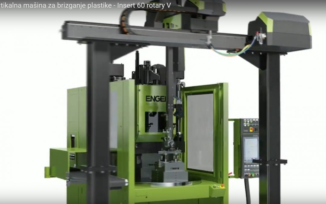 ENGEL Vertikalna mašina za brizganje plastike – Insert 60 rotary V
