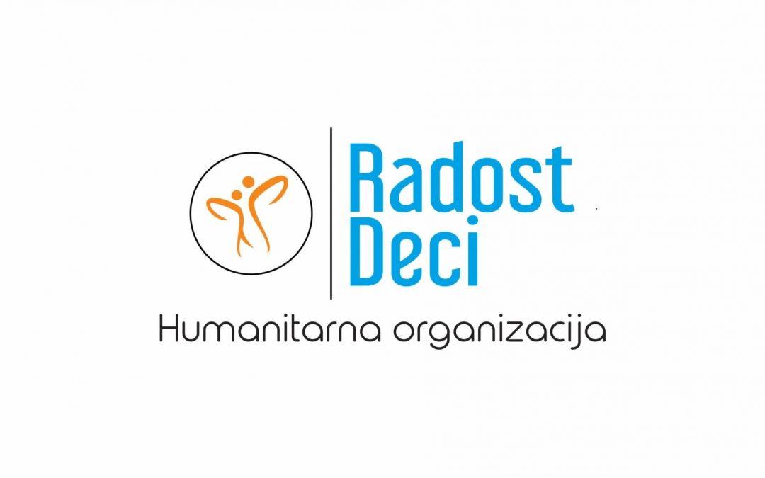 NEOFYTON DONATOR HUMANITARNE ORGANIZACIJE RADOST DECI