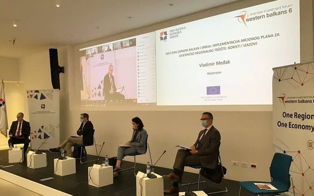 Info day West Balkan and Serbia: Implementation of the Action Plan for the Common Regional Market